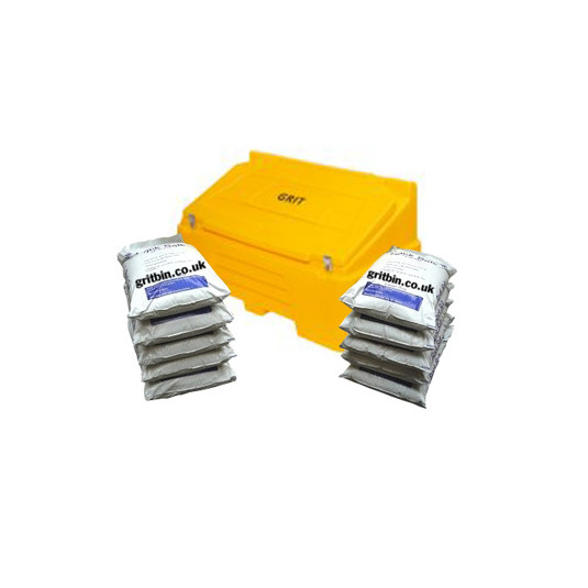 400Ltr Lockable Grit Bin