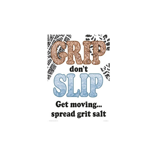 Grip Don't Slip A2 Poster
