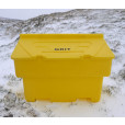 200 Litre Grit Bin and Salt Package - Includes 10 Bags of Winter Salt