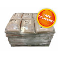 Pallet of Brown Rock Salt - Free Delivery