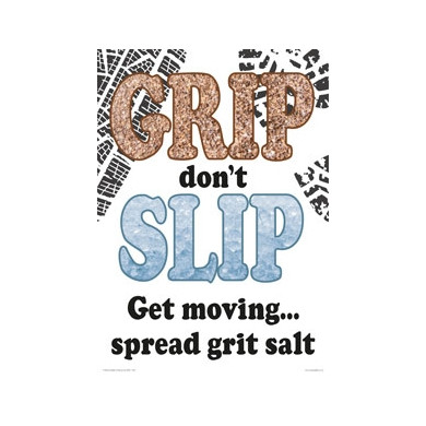 Grip Don't Slip - A2 Poster