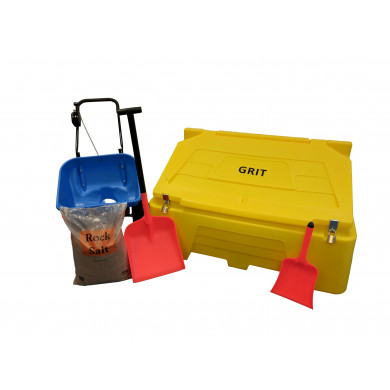 Large Car Park Pack - Includes 10 Bags of Winter Salt