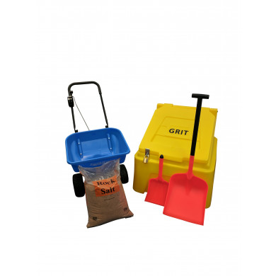 Small Car Park Pack - Includes 10 Bags of Winter Salt
