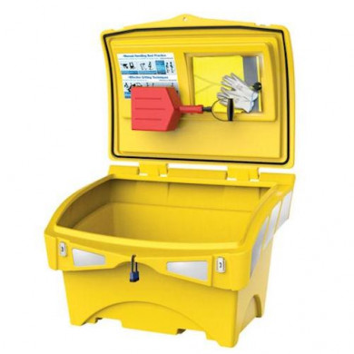 Ultimate Grit Bin Winter Equipment Pack - 200 Litre